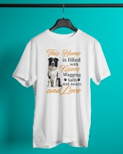House Filled With Border Collie Classic T-Shirt lifestyle-mens-crewneck-front-3