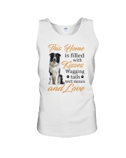 House Filled With Border Collie Unisex Tank thumbnail