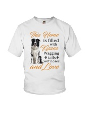 House Filled With Border Collie Youth T-Shirt thumbnail