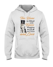 House Filled With Border Collie Hooded Sweatshirt thumbnail