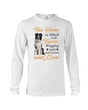 House Filled With Border Collie Long Sleeve Tee thumbnail