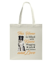 House Filled With Border Collie Tote Bag thumbnail