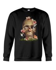 Cool Cat And Skull Crewneck Sweatshirt thumbnail
