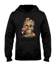 Cool Cat And Skull Hooded Sweatshirt thumbnail