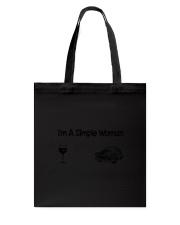 Simple Woman Car Tote Bag thumbnail