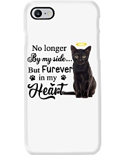 Black Cat Forever In My Heart Phone Case i-phone-7-case