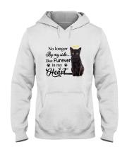 Black Cat Forever In My Heart Hooded Sweatshirt thumbnail