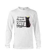 Black Cat Forever In My Heart Long Sleeve Tee thumbnail