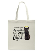 Black Cat Forever In My Heart Tote Bag thumbnail