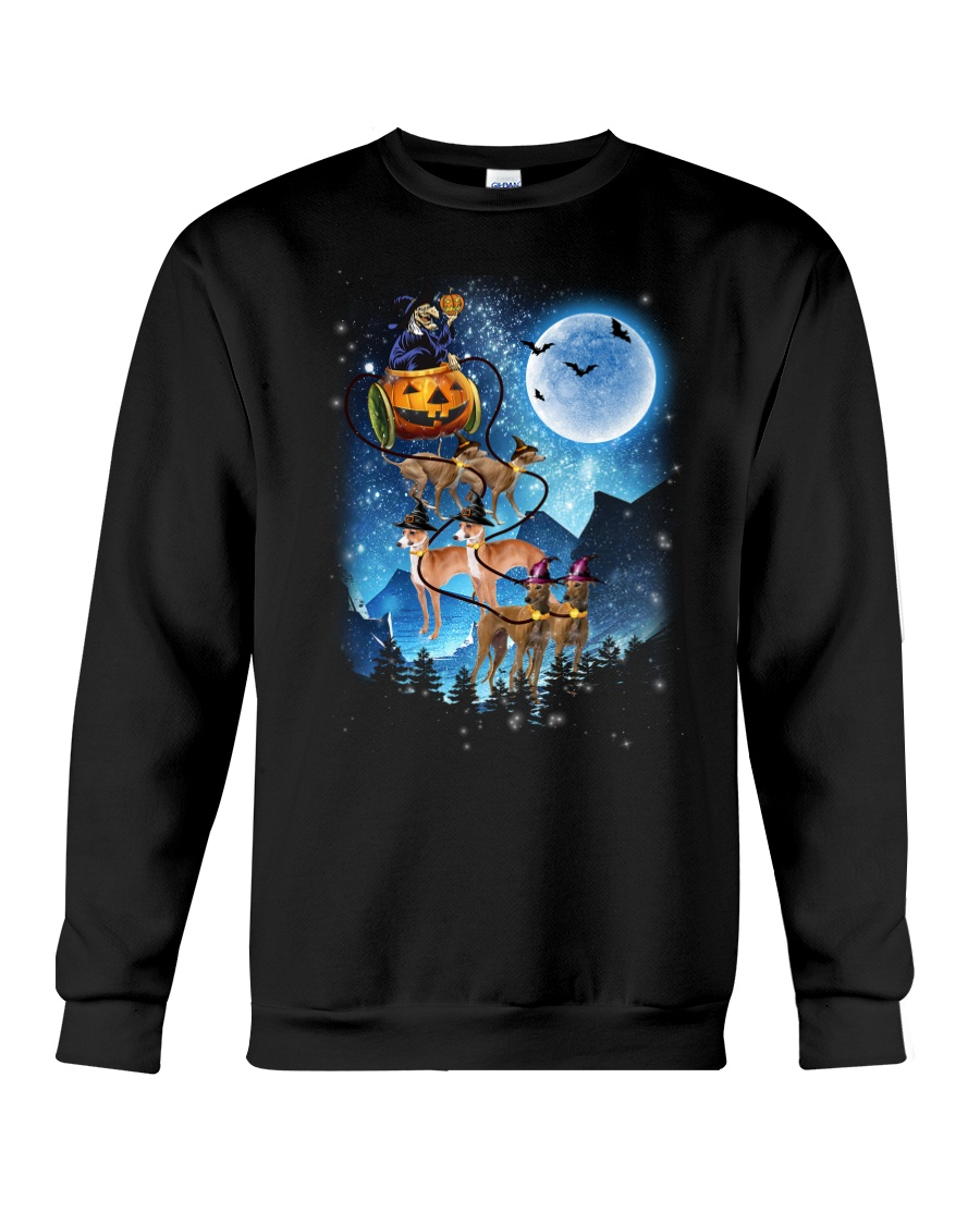Greyhound - Witch sleigh Crewneck Sweatshirt