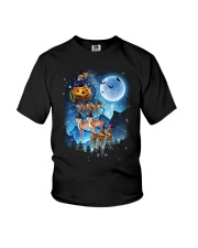 Greyhound - Witch sleigh Youth T-Shirt thumbnail