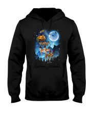 Greyhound - Witch sleigh Hooded Sweatshirt thumbnail