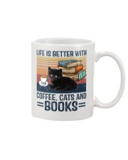 Cat Coffee Books G5930 Mug tile