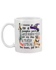 Boerboel Pet My Dog Halloween Mug back