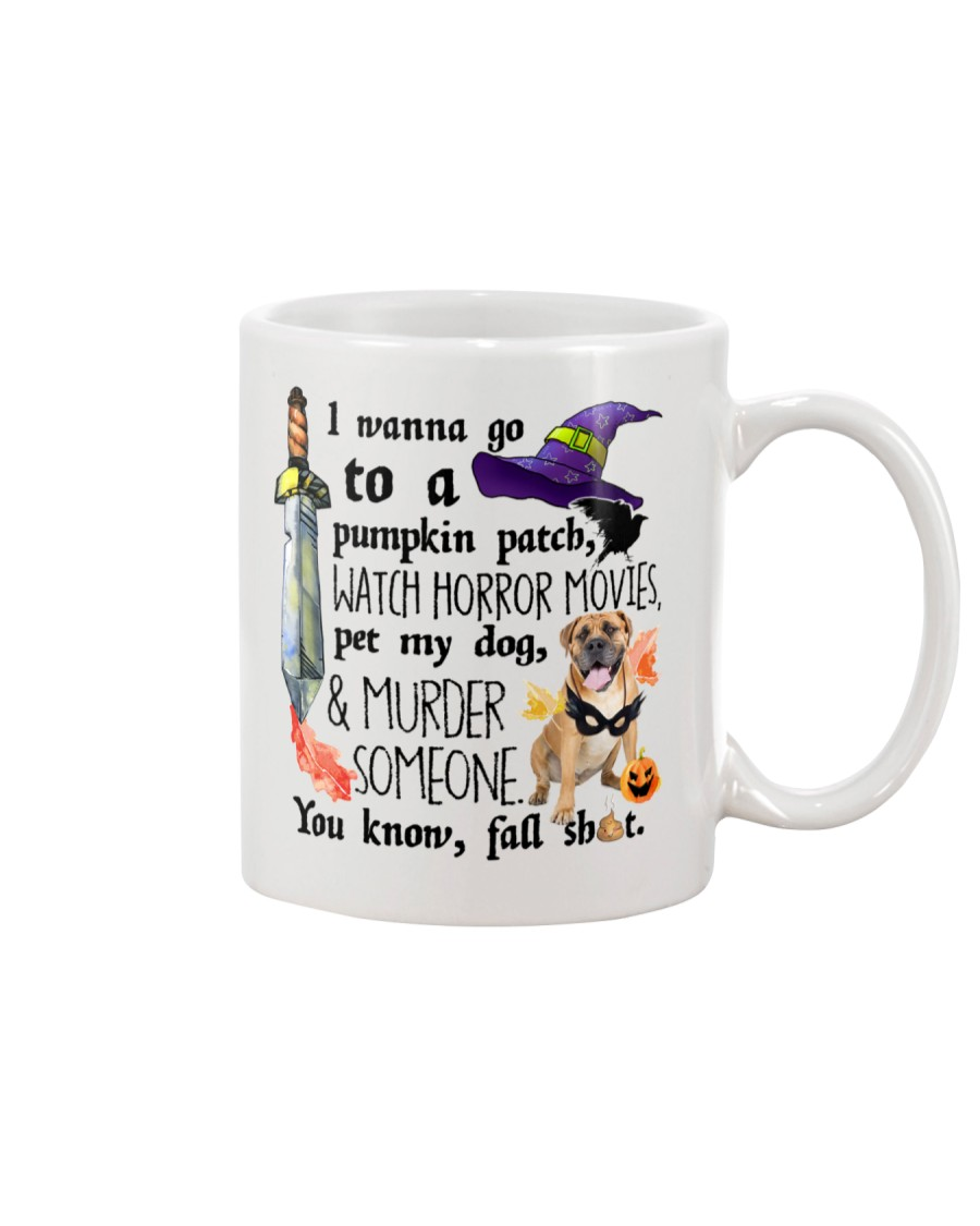Boerboel Pet My Dog Halloween Mug