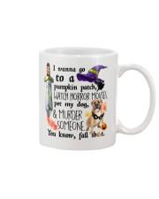 Boerboel Pet My Dog Halloween Mug front