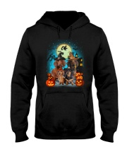 Dachshund Halloween 19 Hooded Sweatshirt tile