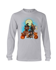 Dachshund Halloween 19 Long Sleeve Tee tile
