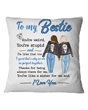 Family - To my bestie - I love you Square Pillowcase thumbnail