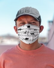 Black Cat Music Notes G82511  Cloth face mask aos-face-mask-lifestyle-06