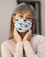 Black Cat Music Notes G82511  Cloth face mask aos-face-mask-lifestyle-17