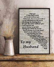 Family To My Husband I Miss You 11x17 Poster lifestyle-poster-3