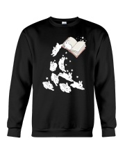 Rabbit Book Crewneck Sweatshirt tile