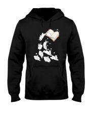 Rabbit Book Hooded Sweatshirt tile