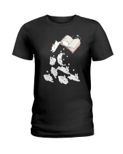 Rabbit Book Ladies T-Shirt tile