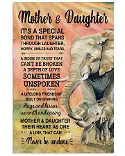 Elephant - Mother and Daughter is Special 11x17 Poster front