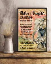 Elephant - Mother and Daughter is Special 11x17 Poster lifestyle-poster-3
