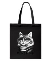 Cat - Meow Is Going Tote Bag thumbnail