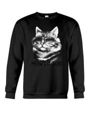 Cat - Meow Is Going Crewneck Sweatshirt thumbnail