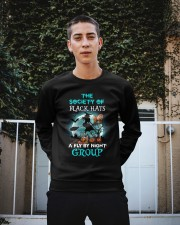 Tibetan Mastiff Fly By Night Crewneck Sweatshirt apparel-crewneck-sweatshirt-lifestyle-01