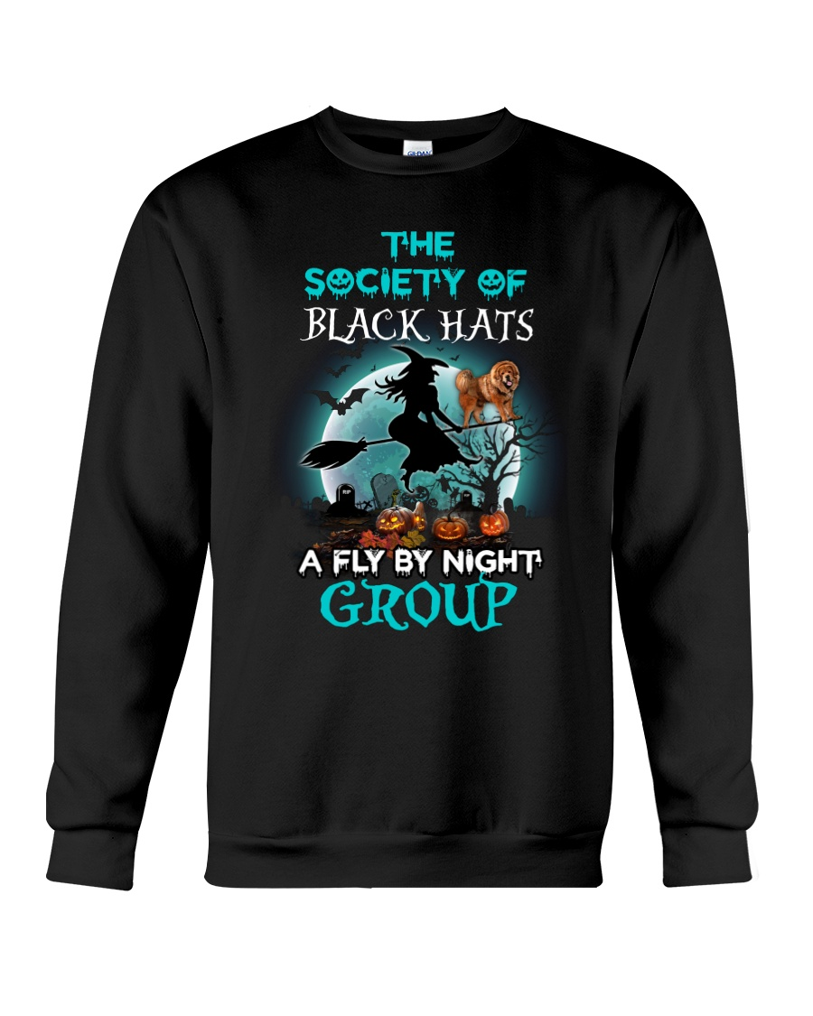 Tibetan Mastiff Fly By Night Crewneck Sweatshirt