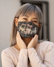 French Bulldog Floral Paw H25842 Cloth face mask aos-face-mask-lifestyle-17