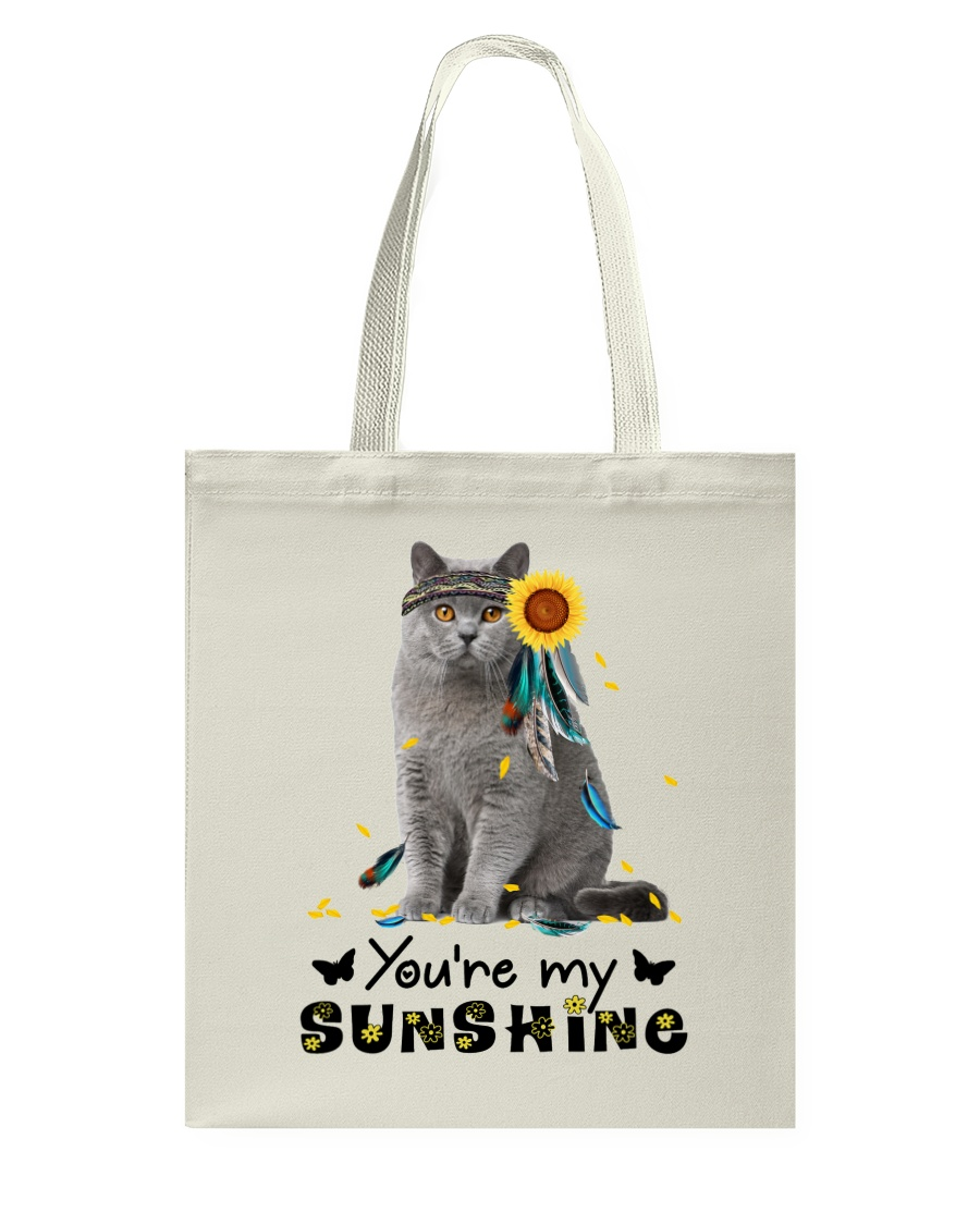 Cat - You are my sunshine Tote Bag