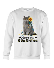 Cat - You are my sunshine Crewneck Sweatshirt thumbnail
