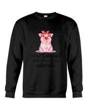 Farm - Pig I'm Not Short  Crewneck Sweatshirt thumbnail