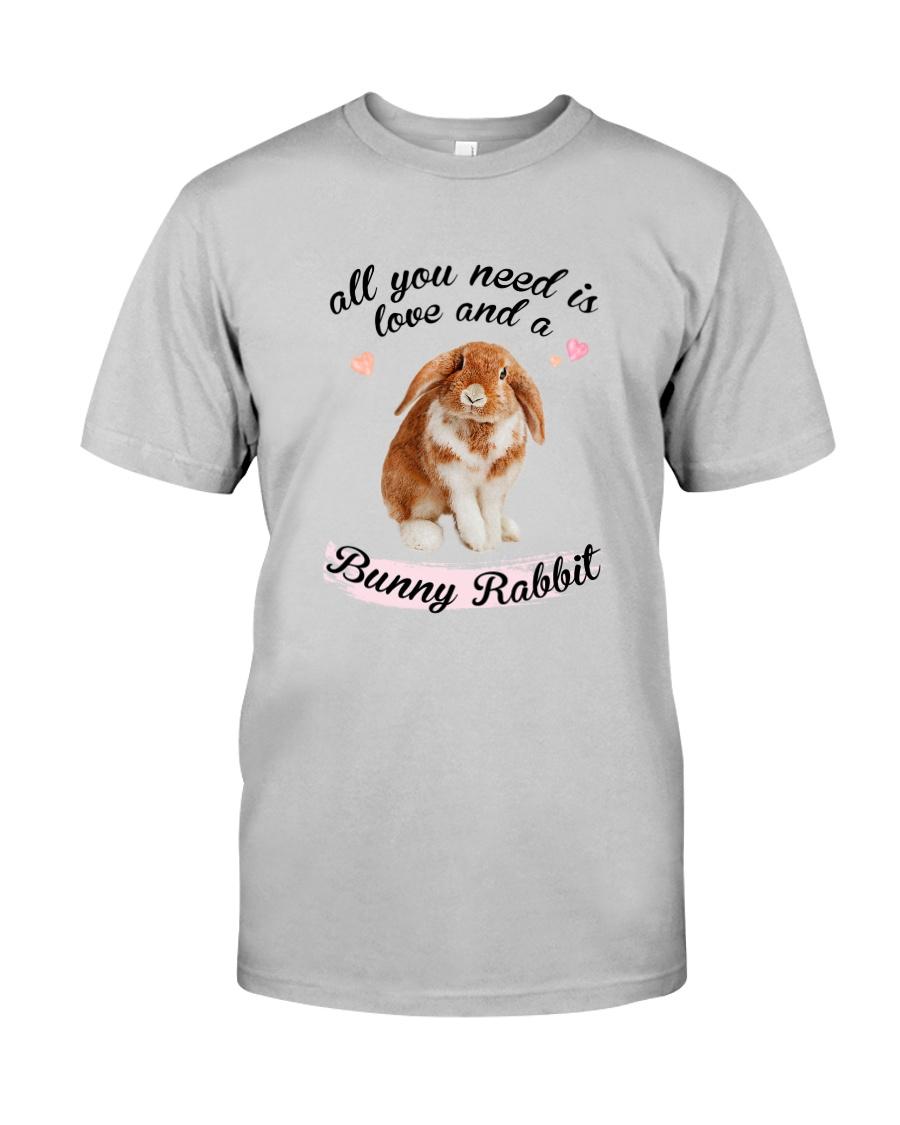 Rabbit Love Classic T-Shirt