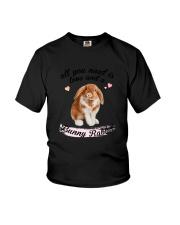 Rabbit Love Youth T-Shirt thumbnail