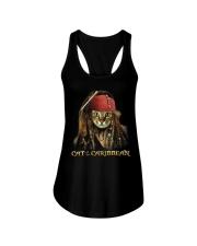 Cat Of The Caribbean Ladies Flowy Tank thumbnail