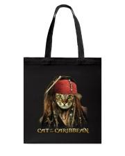 Cat Of The Caribbean Tote Bag thumbnail