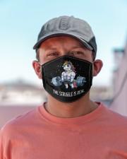 Unicorn Gym T825 Cloth face mask aos-face-mask-lifestyle-06