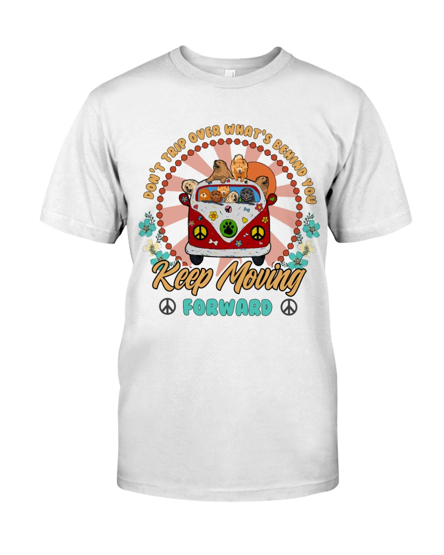 Chow Chow Keep Moving Forward T5TO Classic T-Shirt