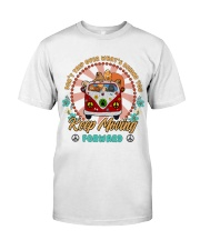 Chow Chow Keep Moving Forward T5TO Classic T-Shirt front