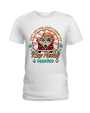 Chow Chow Keep Moving Forward T5TO Ladies T-Shirt thumbnail