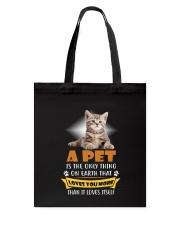 Cat A Pet Tote Bag thumbnail