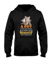 Cat A Pet Hooded Sweatshirt thumbnail