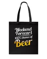 Beer For Weekend Tote Bag thumbnail
